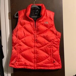 The North Face Down Puffer Vest Women's 550 Pink